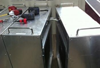 2.試験機の搬入作業